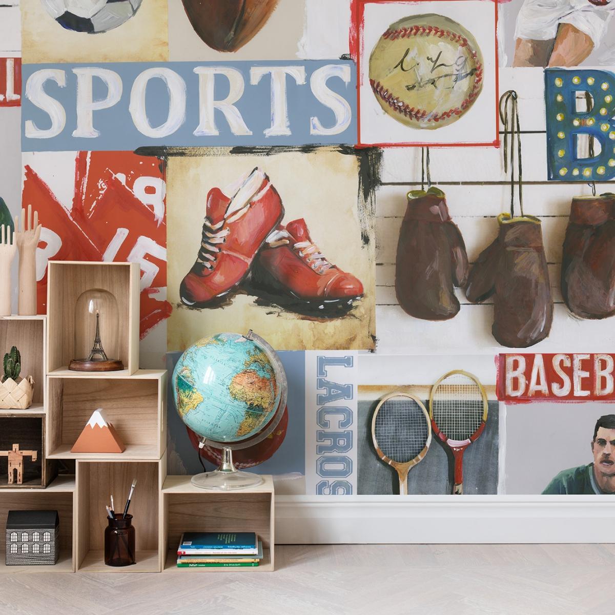 Fototapet Sport, personalizat, Rebel Walls