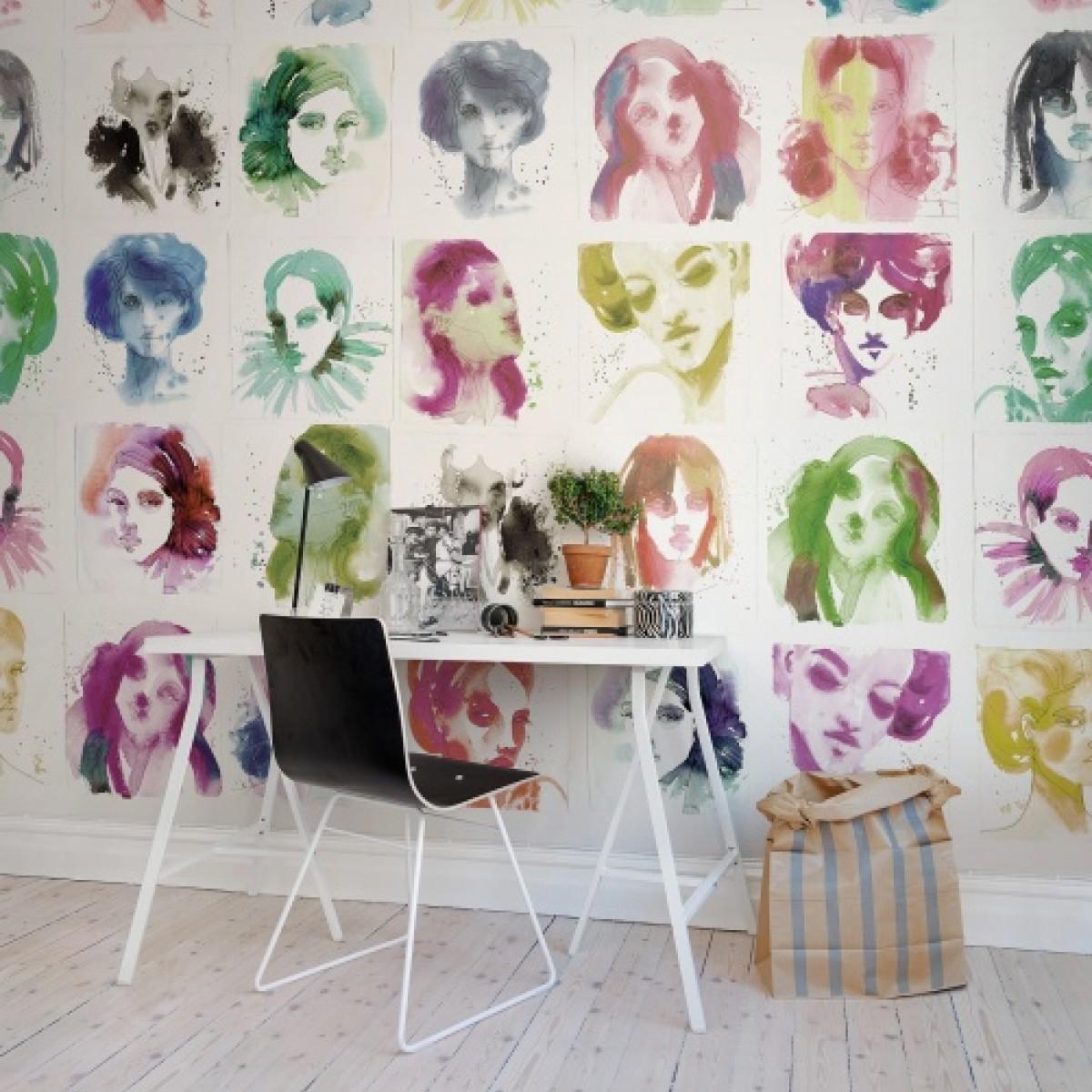Fototapet Portrete, personalizat, Rebel Walls