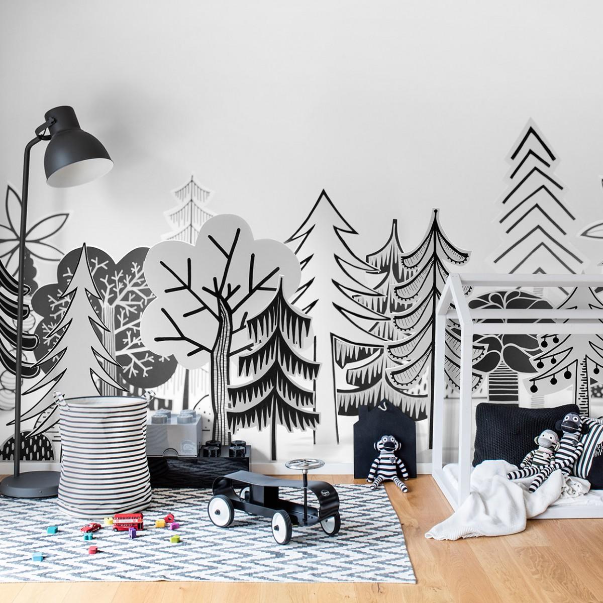 Fototapet Nordic Valley , personalizat, Rebel Walls