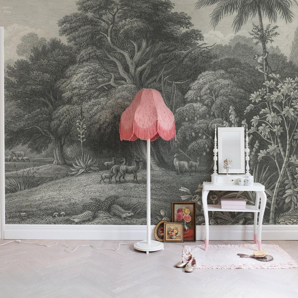 Fototapet Jungle Land, Vintage, personalizat, Rebel Walls