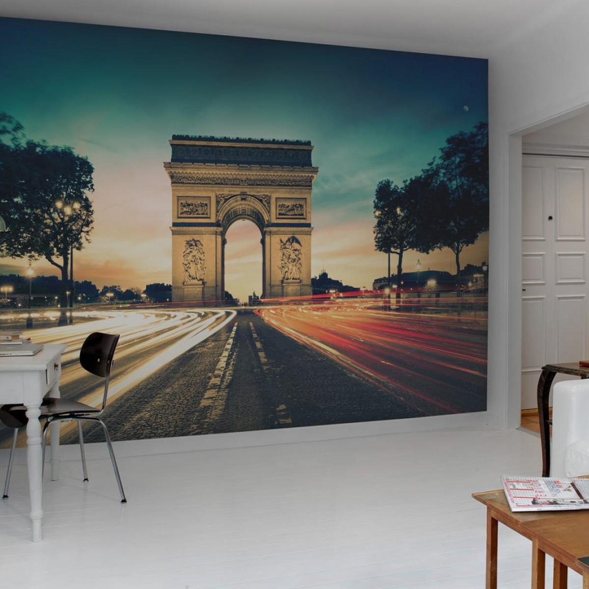 Fototapet Arc de Triomphe, personalizat, Rebel Walls