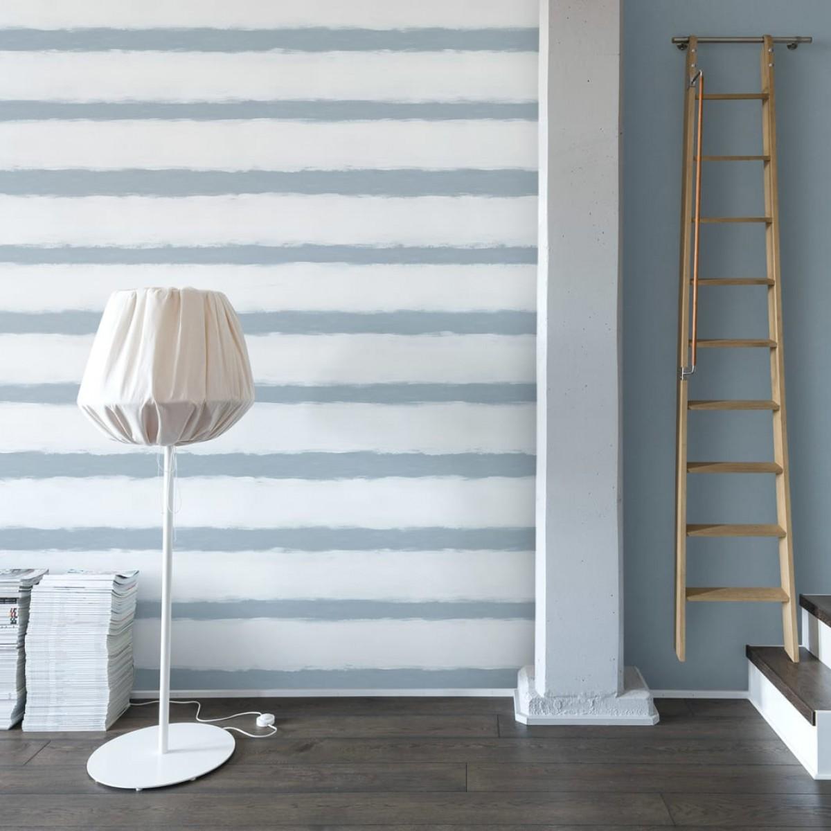 Foto tapet 3D  Linen, Blue, personalizat, Rebel Walls