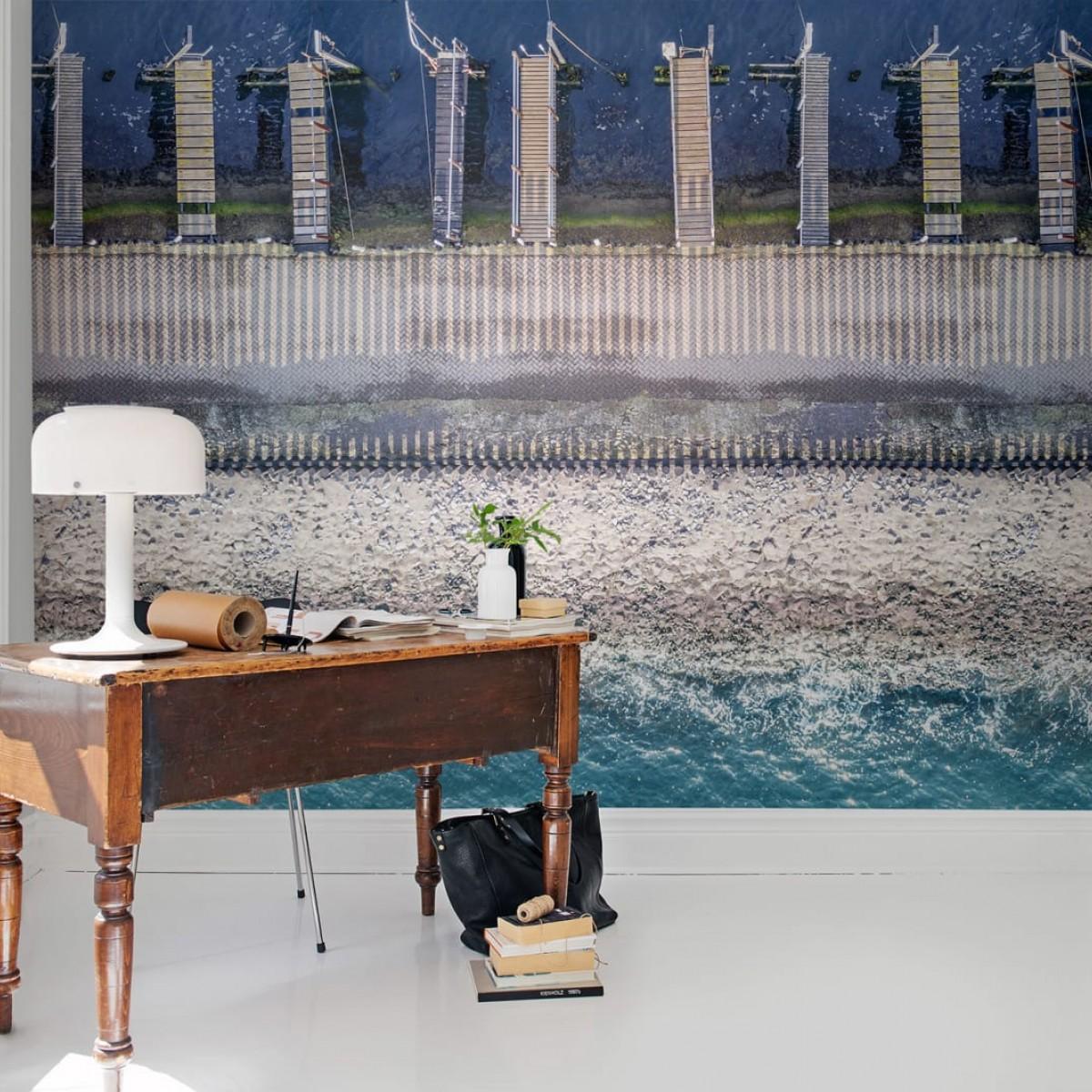 Foto tapet 3D  Ocean Breeze, personalizat, Rebel Walls