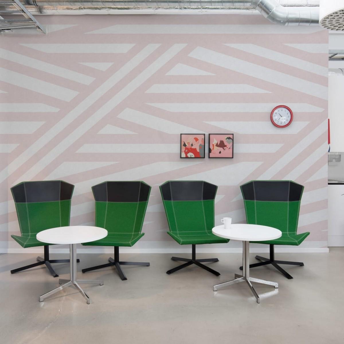 Foto tapet 3D  Sailor's Sea, Pink, personalizat, Rebel Walls