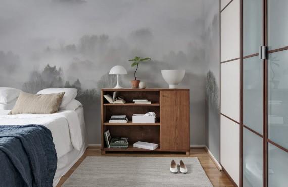 Foto tapet 3D Ceața dimineții, personalizat, Rebel Walls