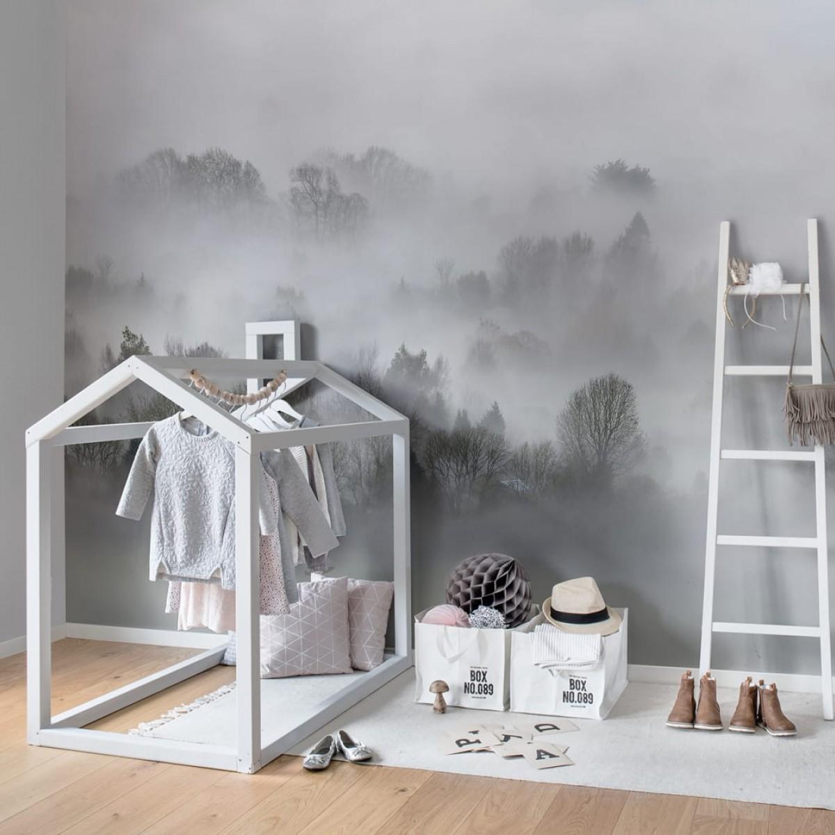 Fototape Morning Fog, personalizat, Rebel Walls