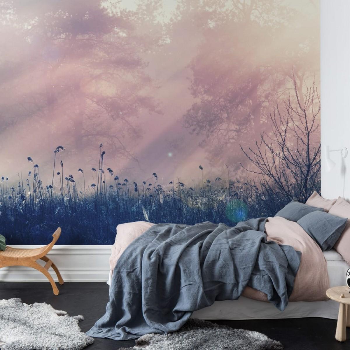 Fototapet Pink Dawn, personalizat, Rebel Walls