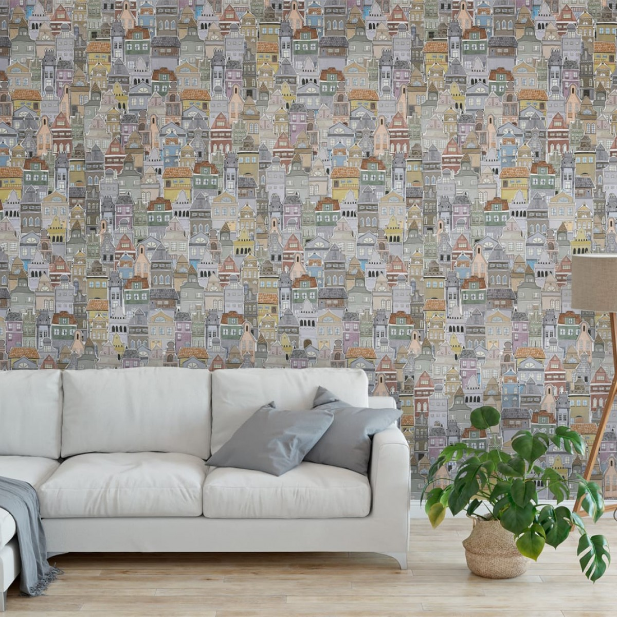 Foto tapet 3D  Notting Hill, personalizat, Rebel Walls