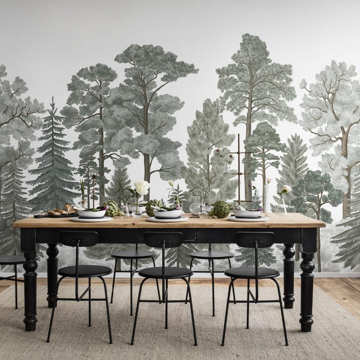 Foto tapet 3D  Scandinavian Bellewood, Frost, personalizat, Rebel Walls