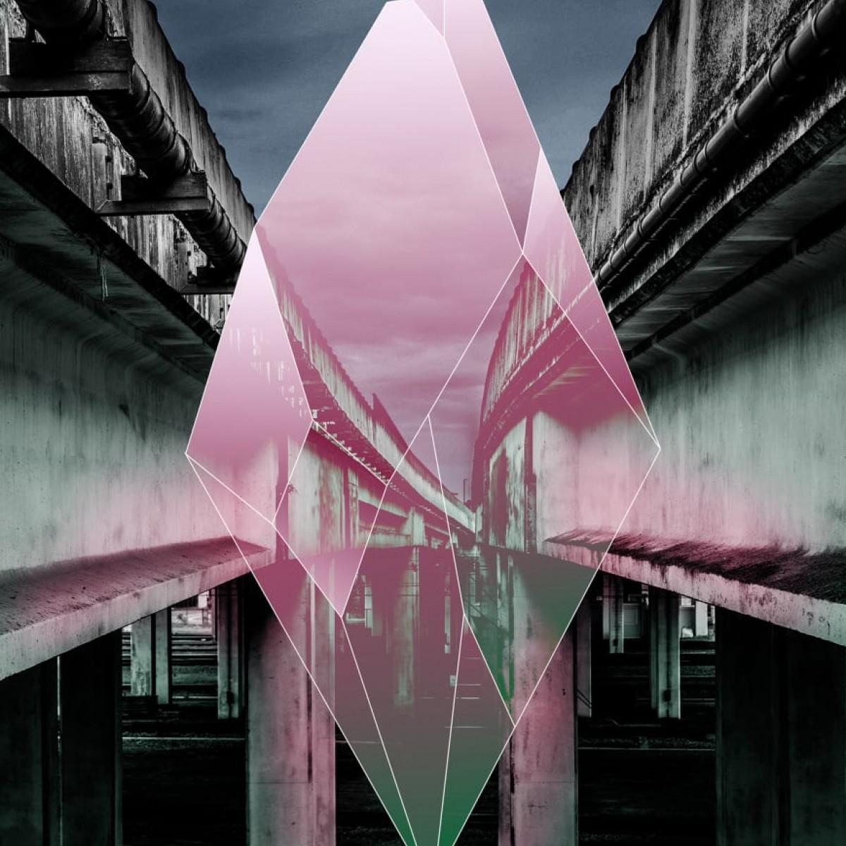 Foto tapet Sparkling City, personalizat, Rebel Walls
