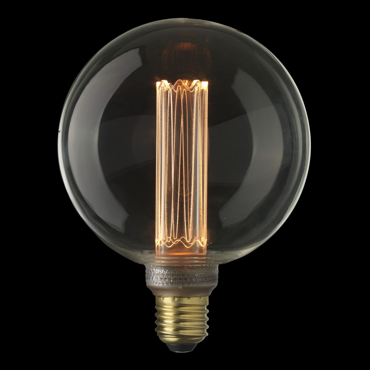 Bec Laser LED filament  dimabil L211, E27, 12.5cm, lumină caldă