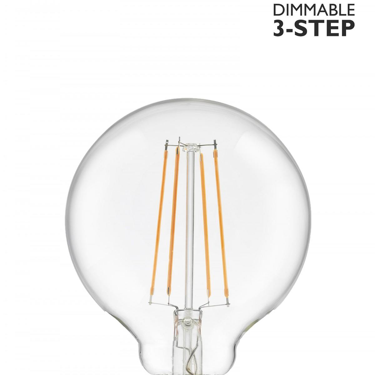 Bec LED dimabil L110, E27, 9.5cm, lumină caldă