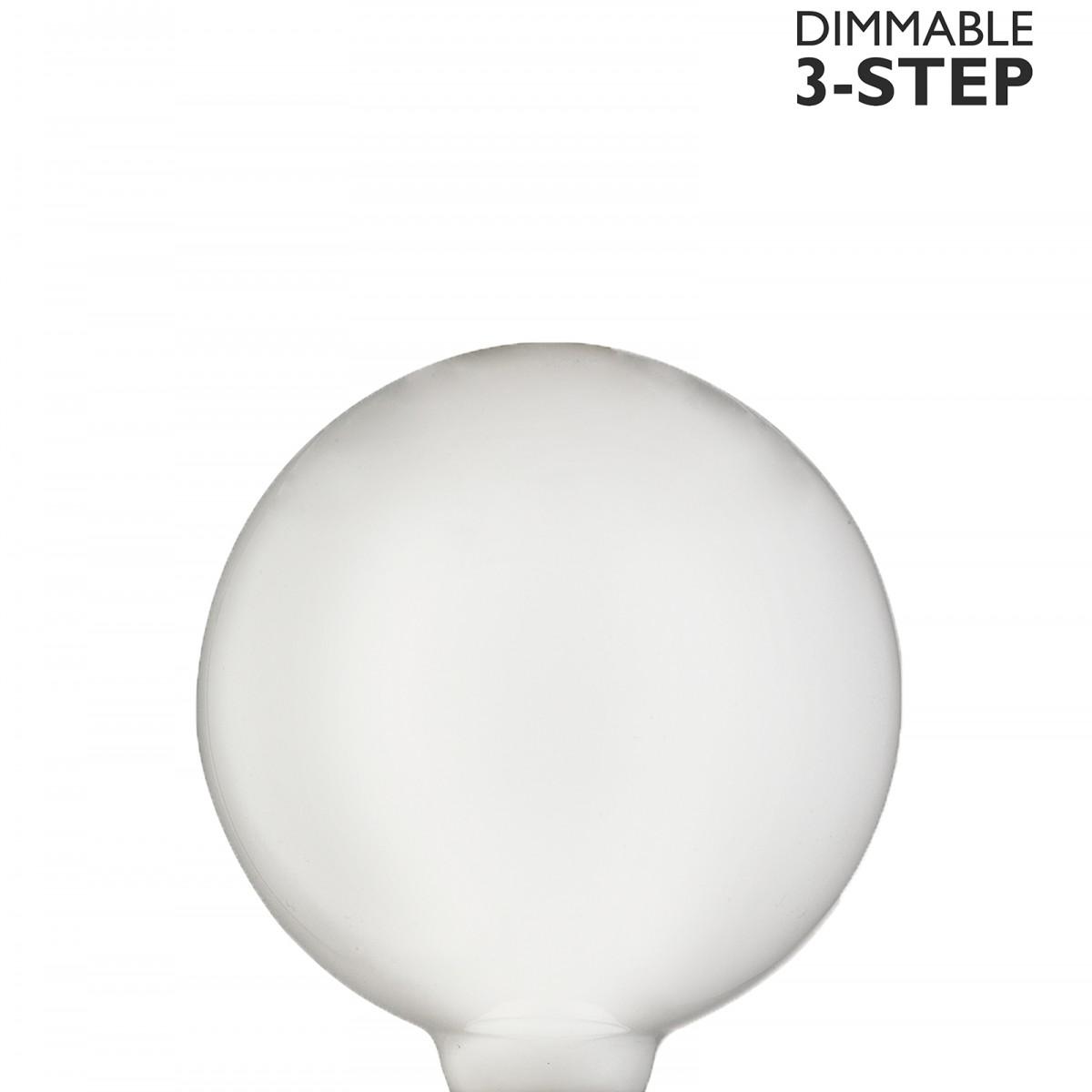 Bec LED dimabil L112, E27, 9.5cm, lumină caldă