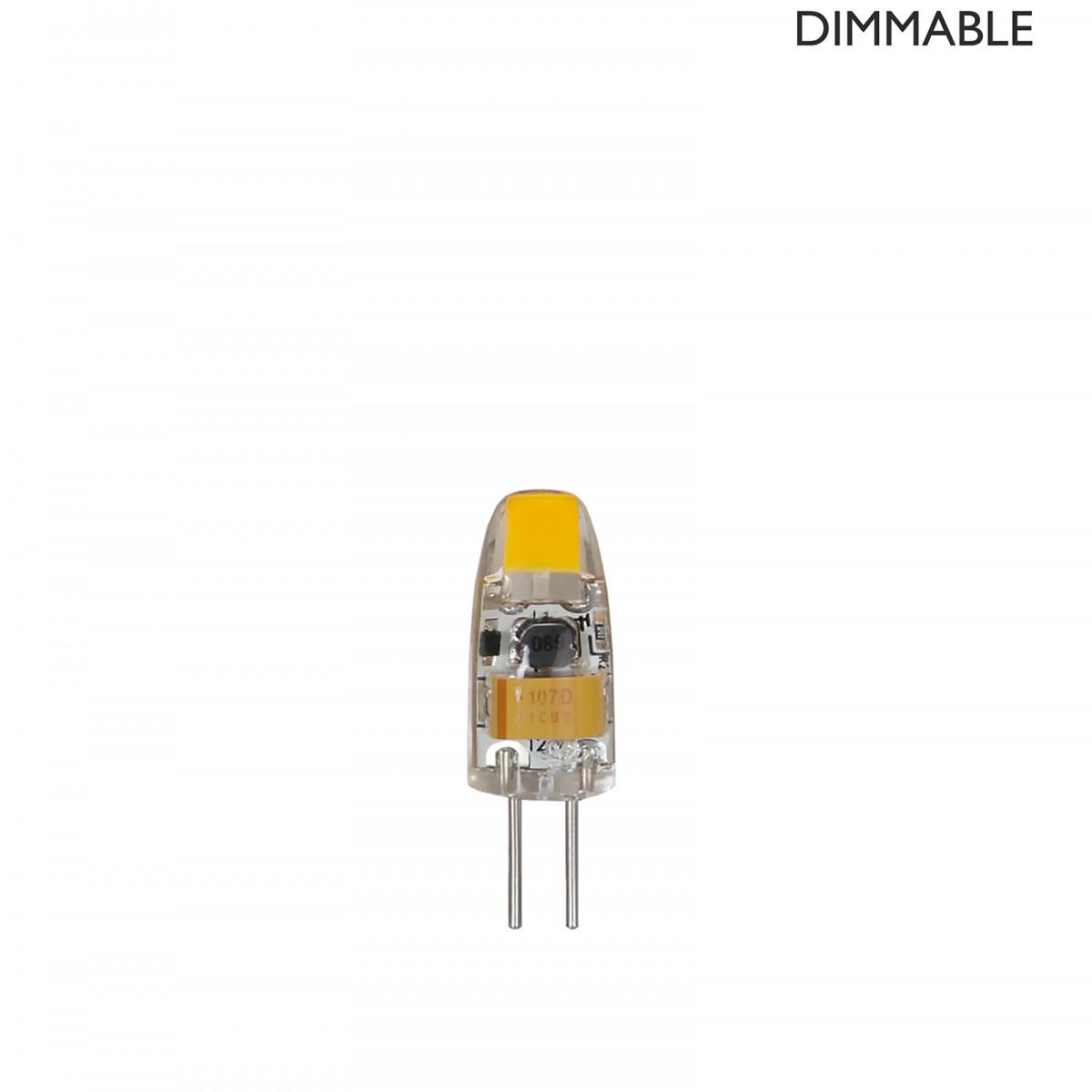 Bec LED dimabil L52, G4, 1cm, lumină caldă