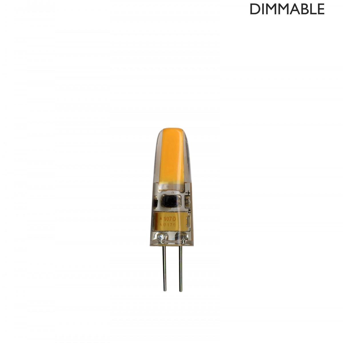 Bec LED dimabil L53, G4, 1cm, lumină caldă