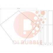 Panou decorativ din burete O!Bubble Desert
