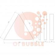 Panou decorativ din burete O!Bubble Tero