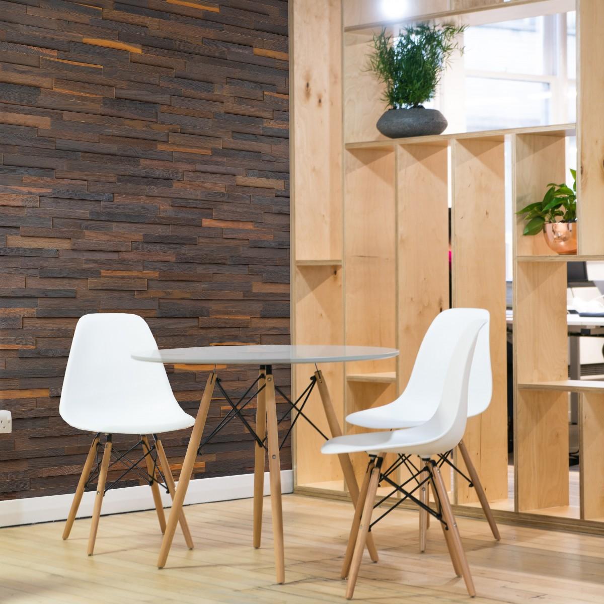 Panouri decorative din lemn de stejar, Brick Elegance