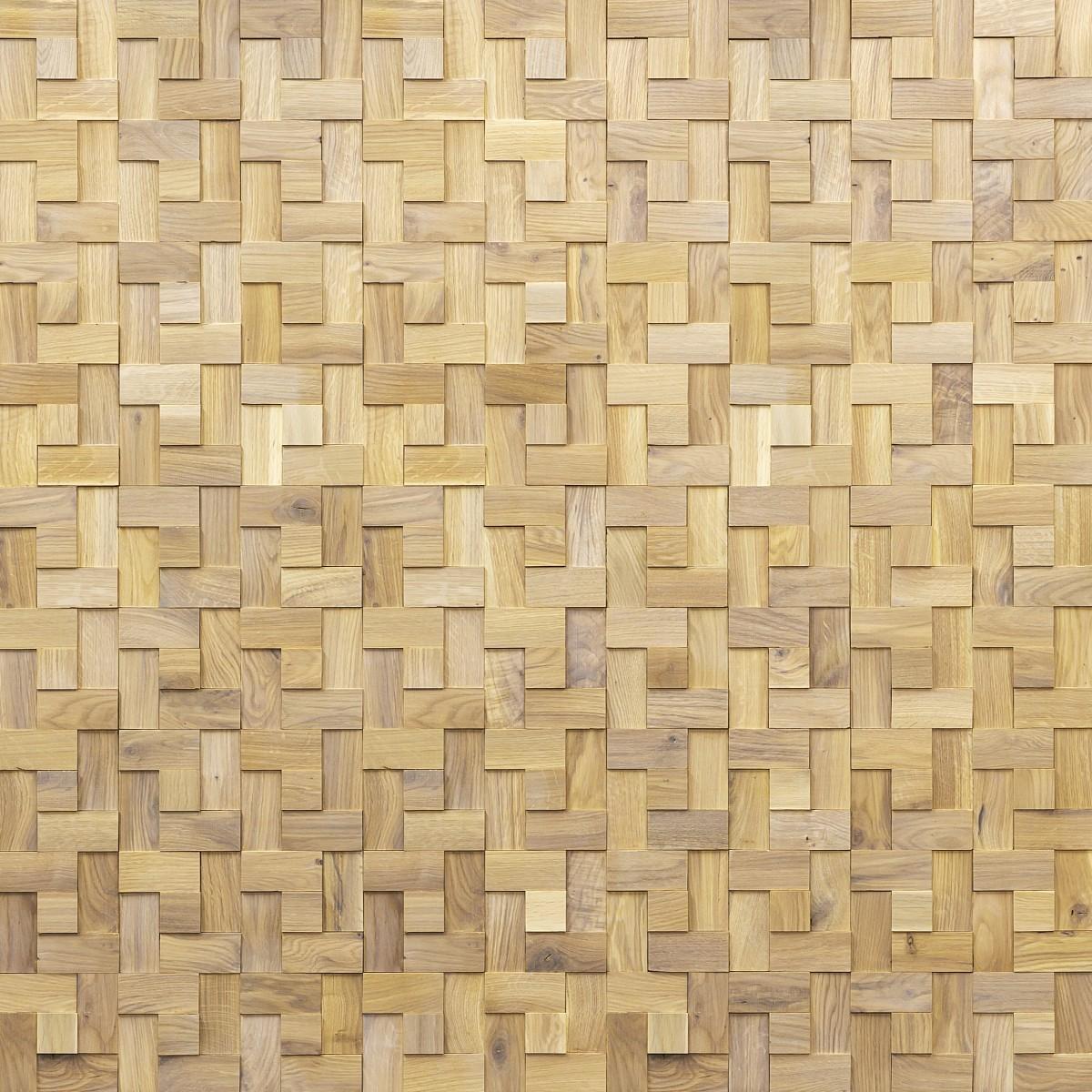 Panouri decorative din lemn de stejar, Weave Harmony