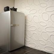 Panouri decorative 3D Splashes, WallArt, 12 placi 50x50cm