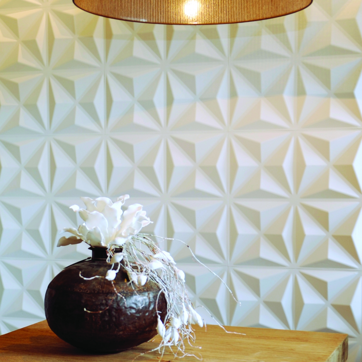 Panouri decorative 3D Cullinans WallArt, 12 placi 50x50cm