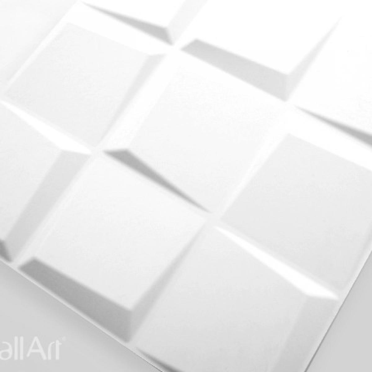 Panouri decorative 3D Oberon WallArt, 12 placi 50x50cm