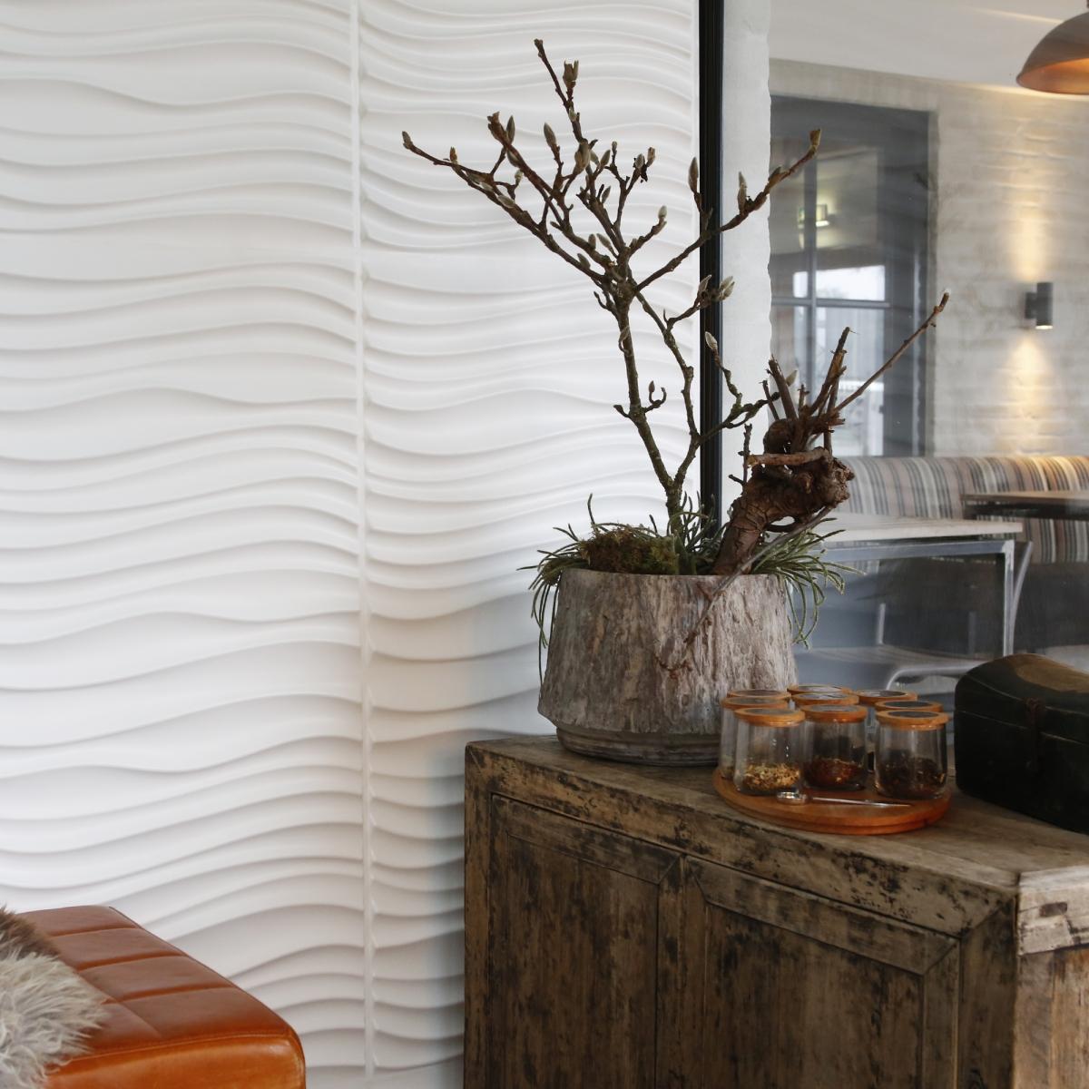 Panouri decorative 3D Maxwell WallArt, 12 placi 50x50cm