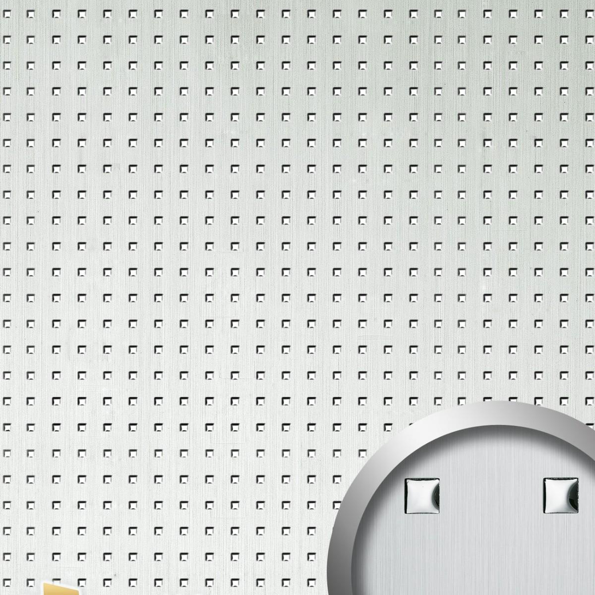 Panou decorativ PUNCH 3D 12026, WallFace, autocolant