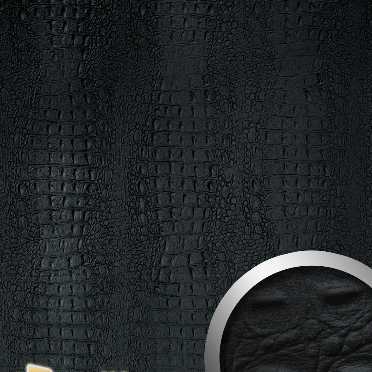 Panou decorativ LEATHER 13408, WallFace, autocolant
