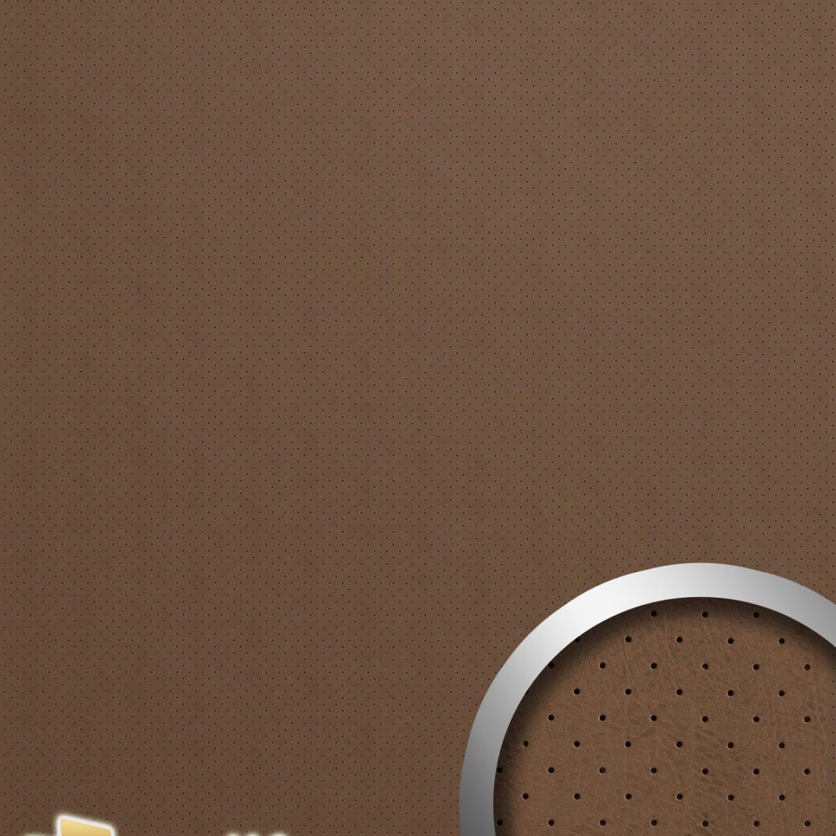 Panou decorativ LEATHER 15286, WallFace, autocolant