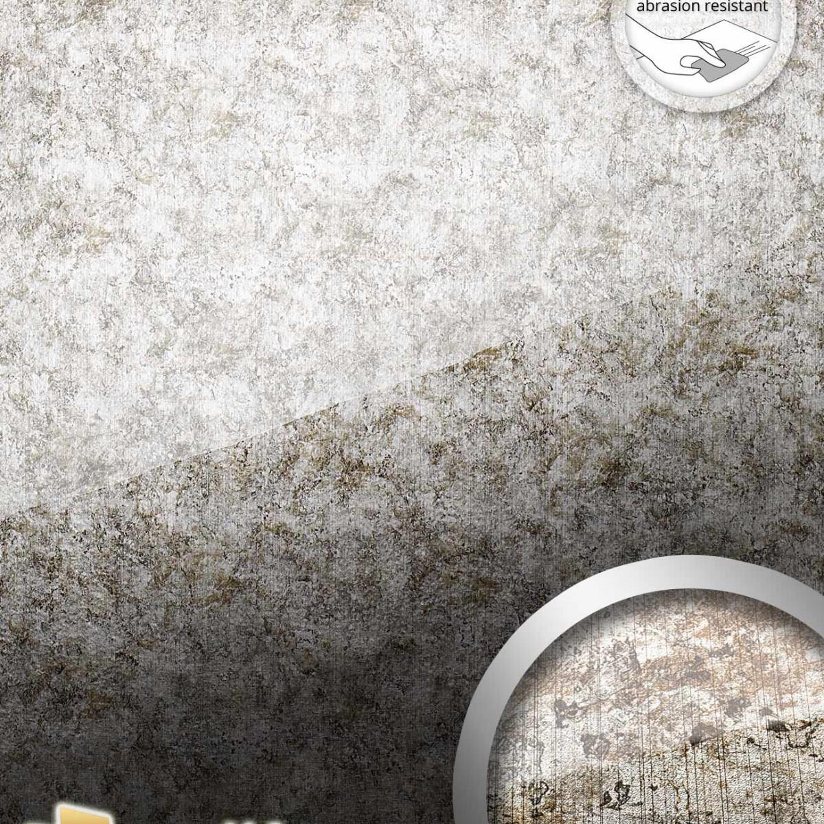 Panou decorativ S-GLASS 17199-AR, WallFace, autocolant