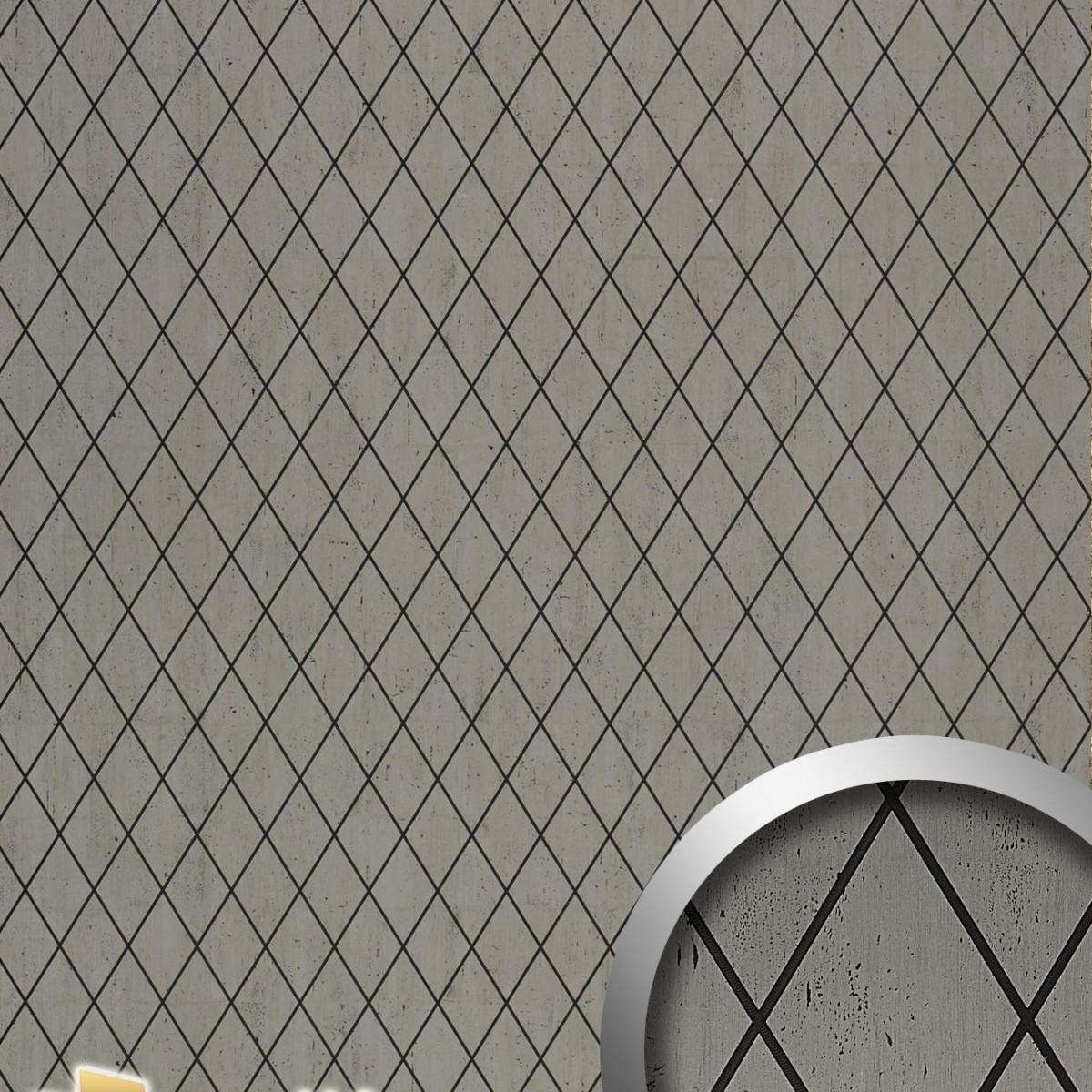Panou decorativ STRUCTURE 17853, WallFace, autocolant