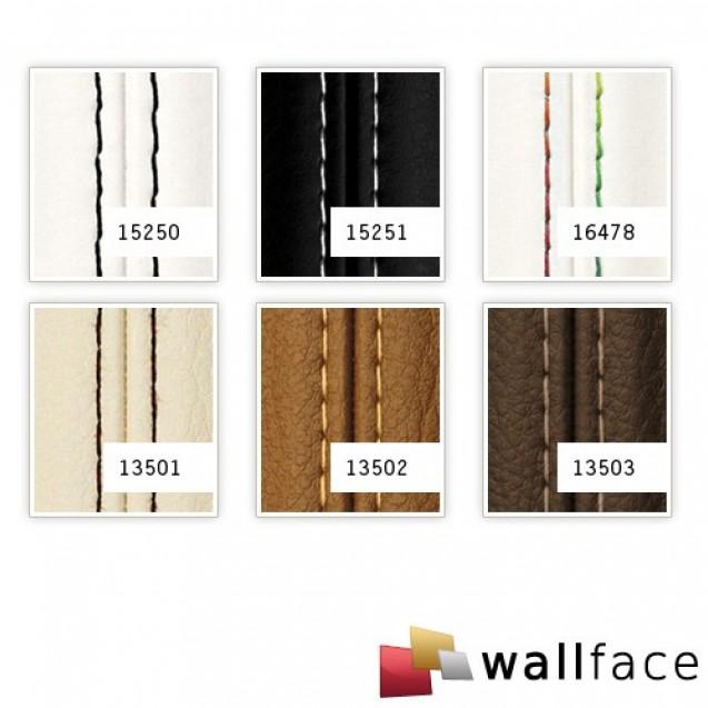 Panou decorativ LEATHER 13502, WallFace, autocolant