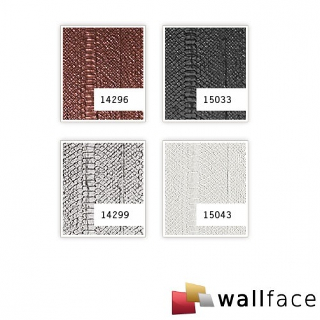 Panou decorativ LEATHER 15043, WallFace, autocolant