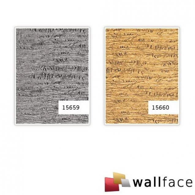 Panou decorativ LEATHER 15659, WallFace, autocolant