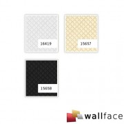 Panou decorativ LEATHER 16419, WallFace, autocolant