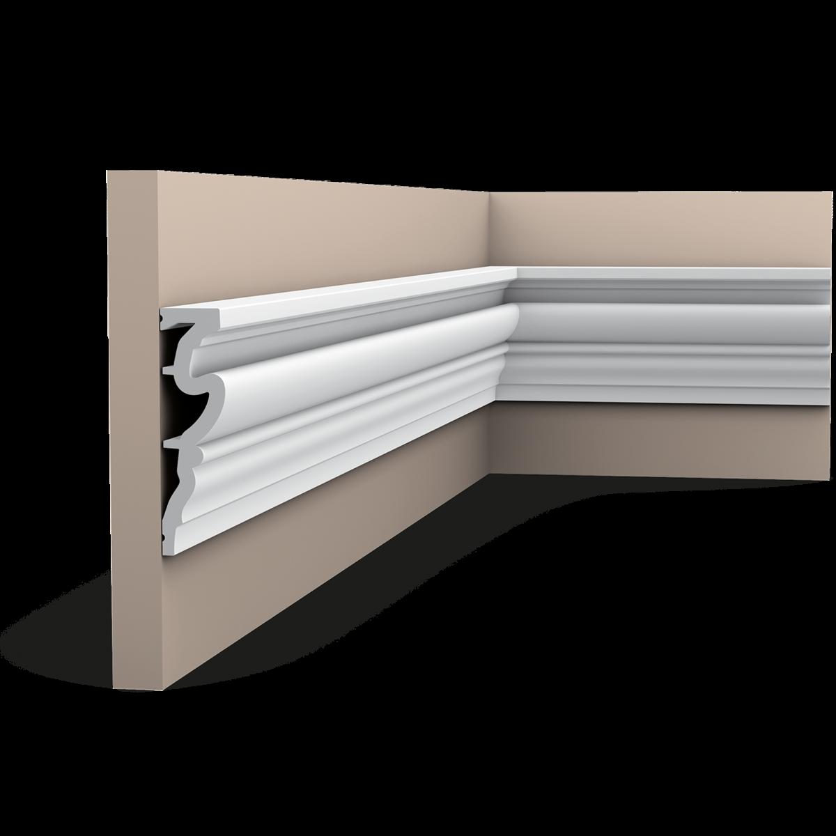 Plintă / Ancadrament Usa Luxxus DX170-2300, Dimensiuni: 230 X 11.9 X 3.2 cm, Orac Decor