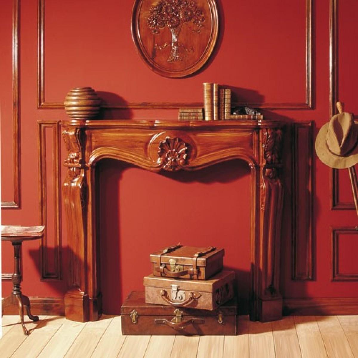 Semineu Decorativ Luxxus H100B, Dimensiuni: 19 X 87.3 X 17.5 cm, Orac Decor