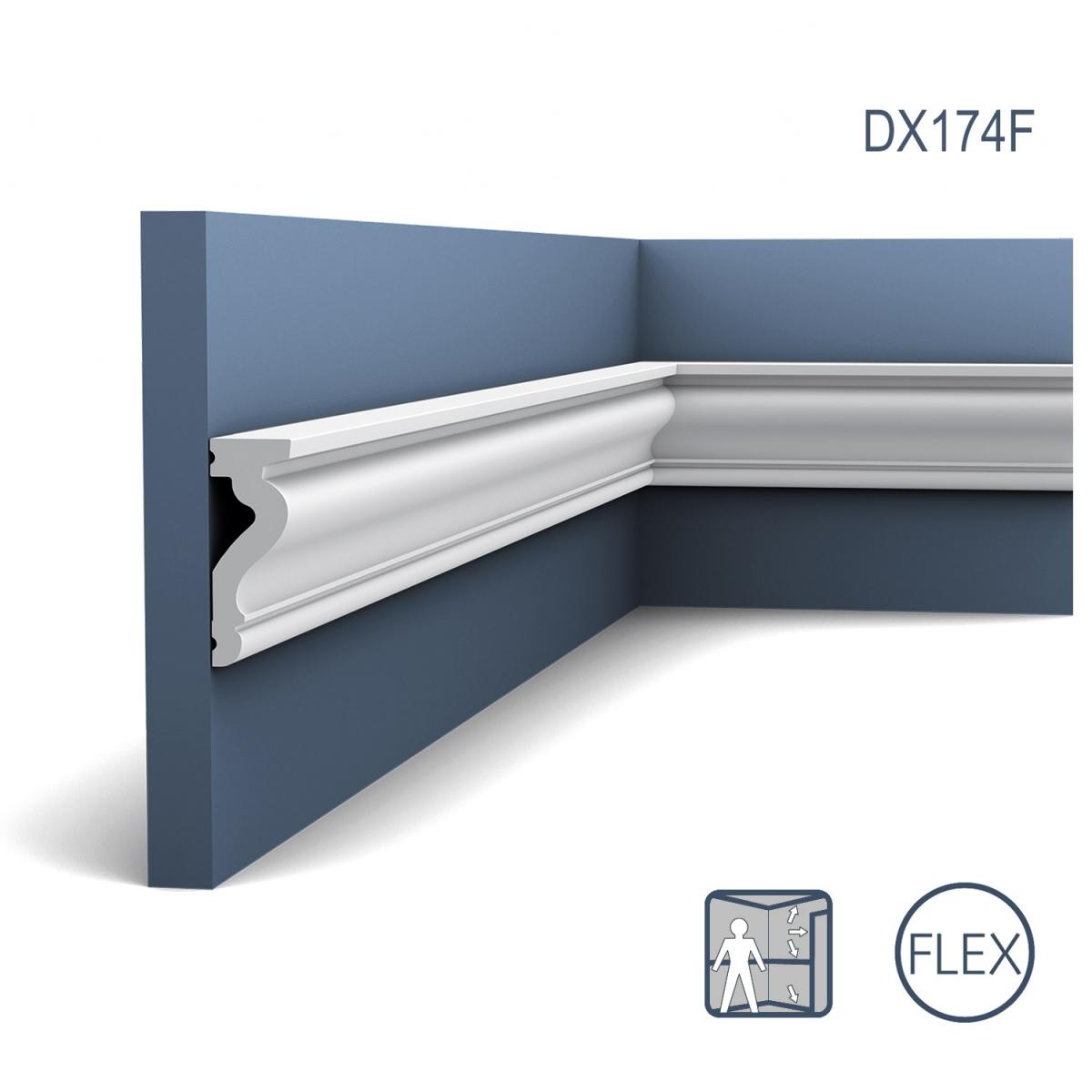 Ancadrament Usa Luxxus Flex DX174F, Dimensiuni: 230 X 2.2 X 6 cm, Orac Decor