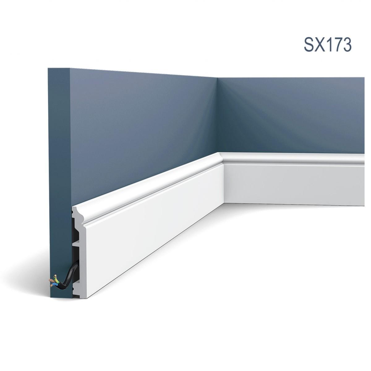Plinta Axxent SX173, Dimensiuni: 200 X 1.6 X 10 cm, Orac Decor