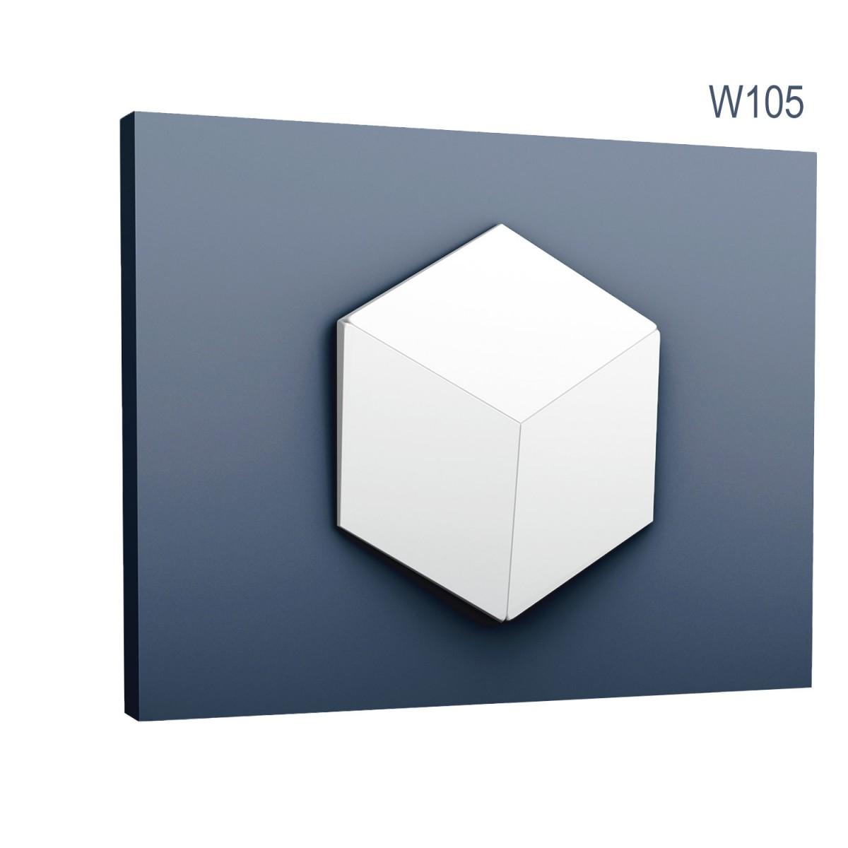 Panel Modern W105, Dimensiuni: 30 X 34.6 X 3 cm, Orac Decor