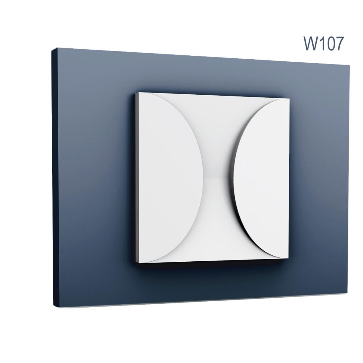 Panel Modern W107, Dimensiuni: 33.3 X 33.3 X 2.9 cm, Orac Decor