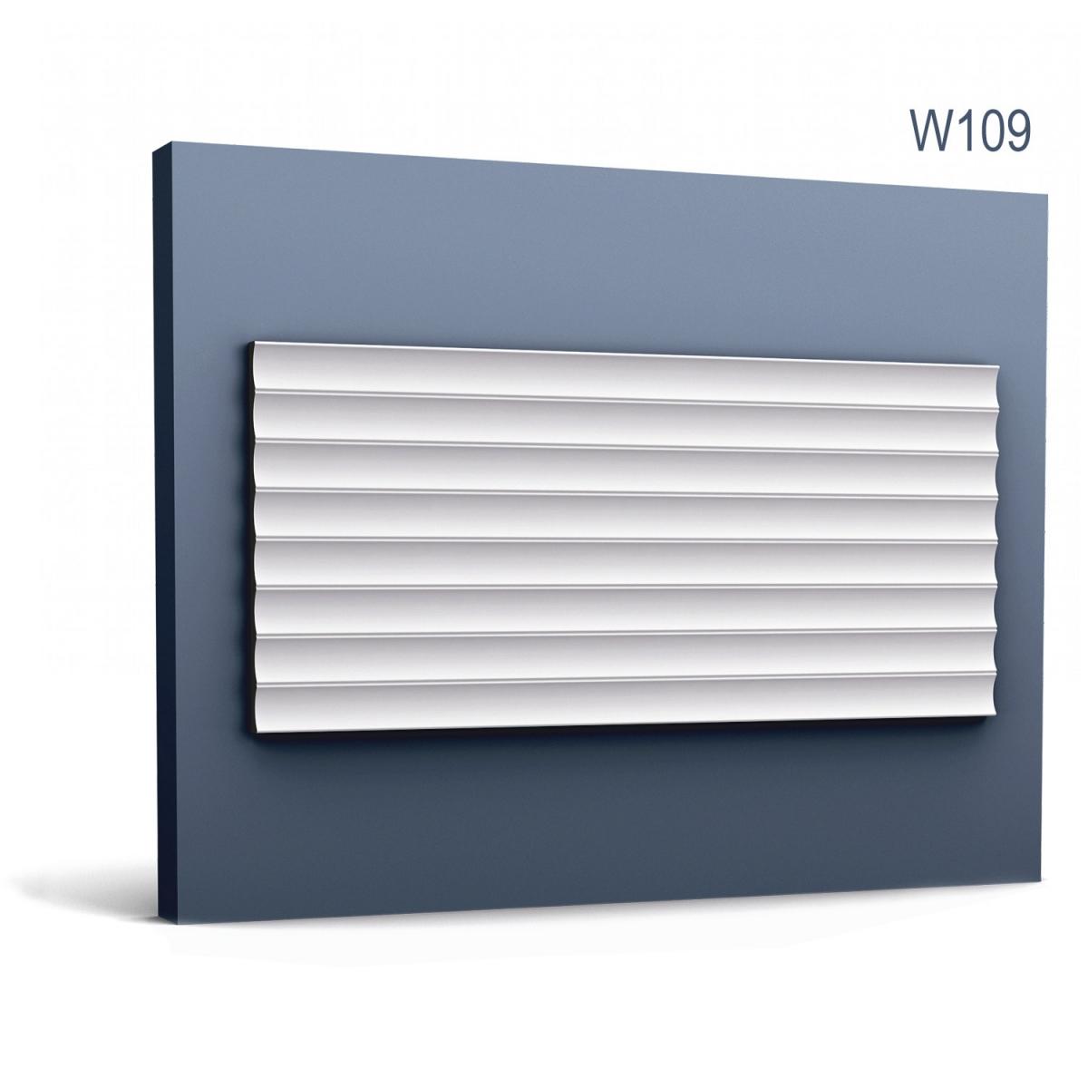 Panel Modern W109, Dimensiuni: 200 X 25 X 1.8 cm, Orac Decor