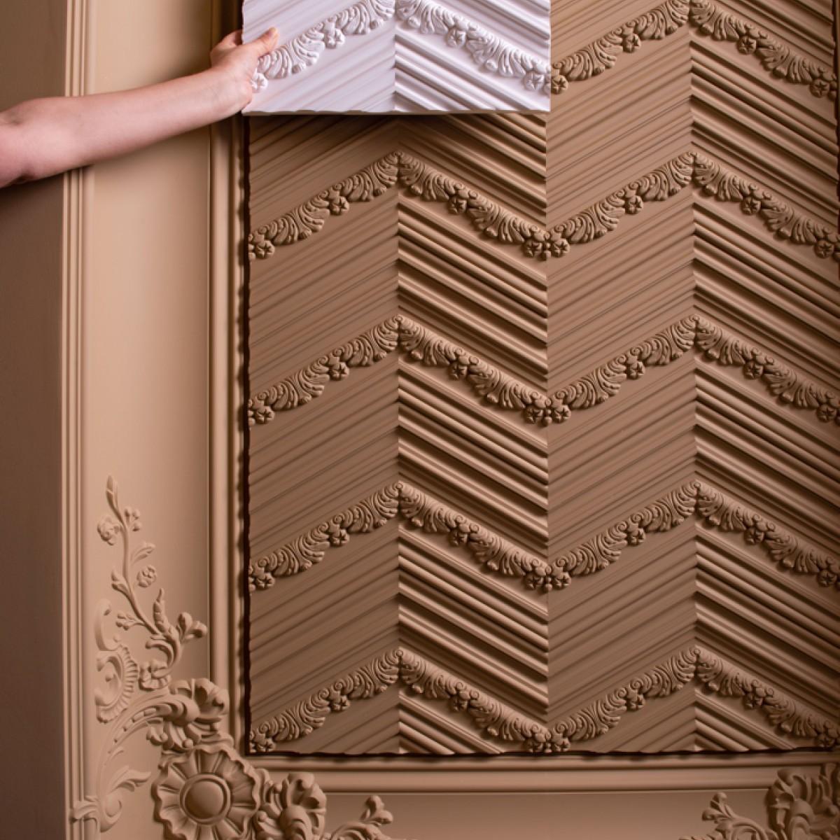 Panel Modern W130, Dimensiuni: 200 X 40 X 1.9 cm, Orac Decor