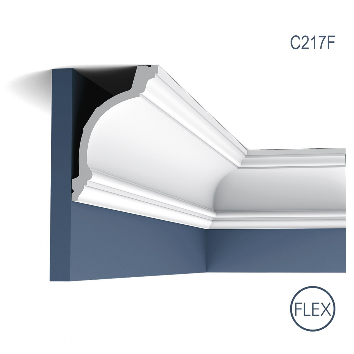 Cornisa Flex Luxxus C217F, Dimensiuni: 200 X 15.6 X 10.3 cm, Orac Decor