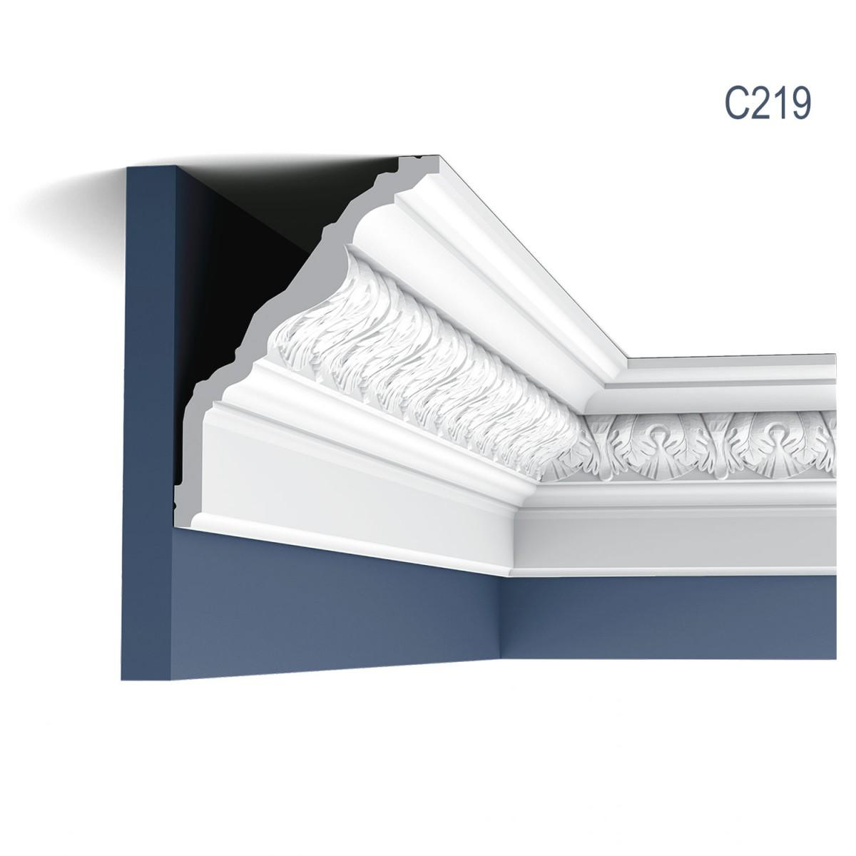 Cornisa Luxxus C219, Dimensiuni: 200 X 17.6 X 13 cm, Orac Decor