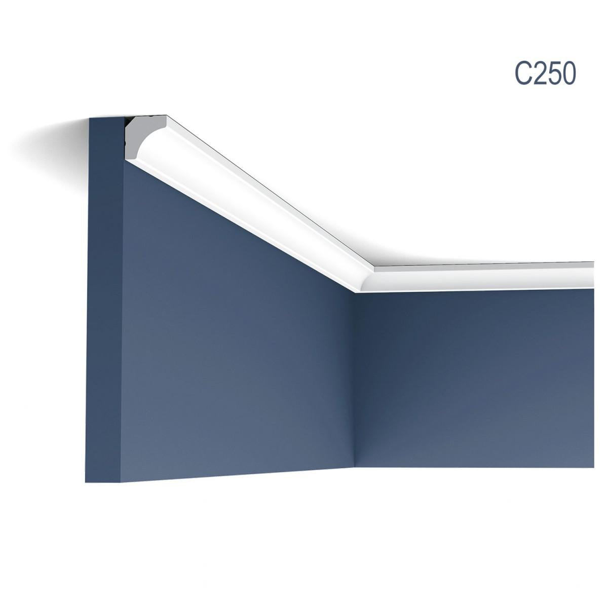 Cornisa Luxxus C250, Dimensiuni: 200 X 1.6 X 1.6 cm, Orac Decor