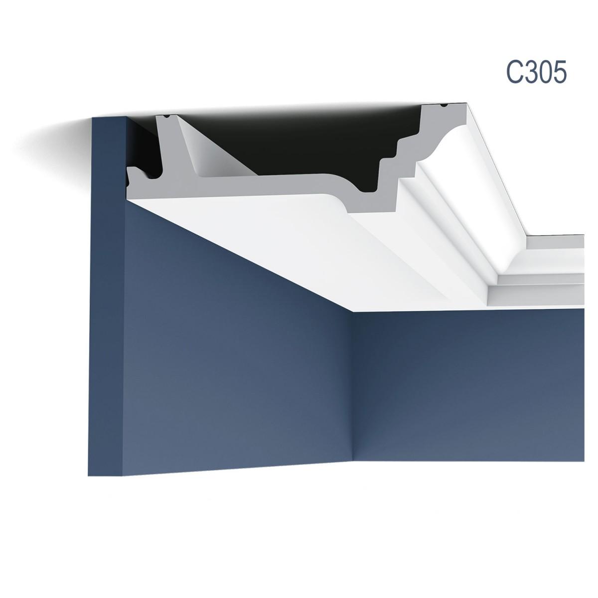 Cornisa Luxxus C305, Dimensiuni: 200 X 4.7 X 15.5 cm, Orac Decor