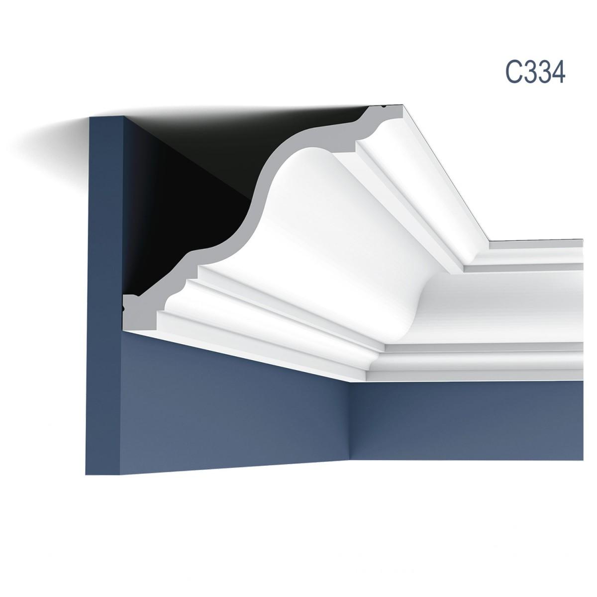 Cornisa Luxxus C334, Dimensiuni: 200 X 15 X 19.6 cm, Orac Decor