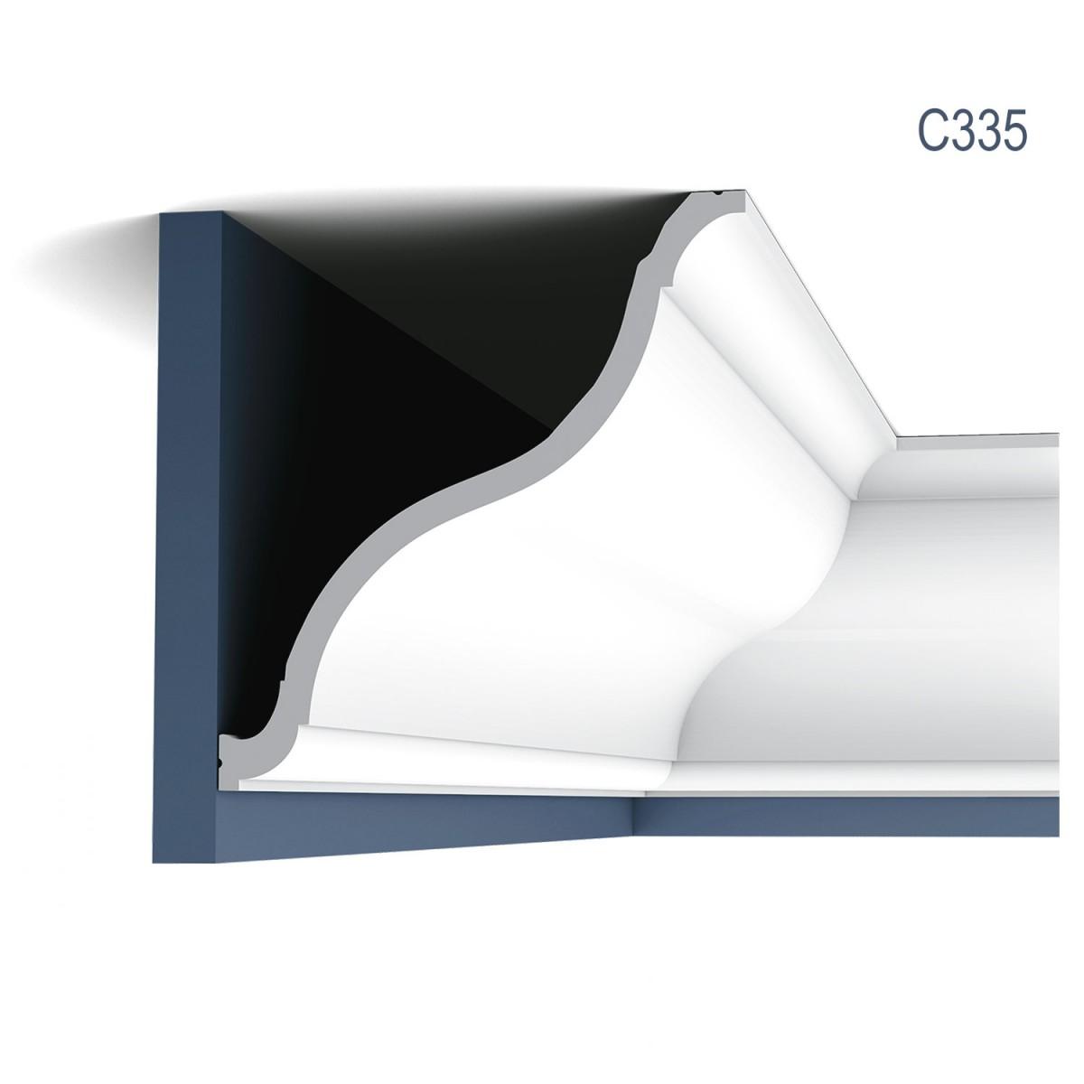 Cornisa Luxxus C335, Dimensiuni: 200 X 22.2 X 20.2 cm, Orac Decor